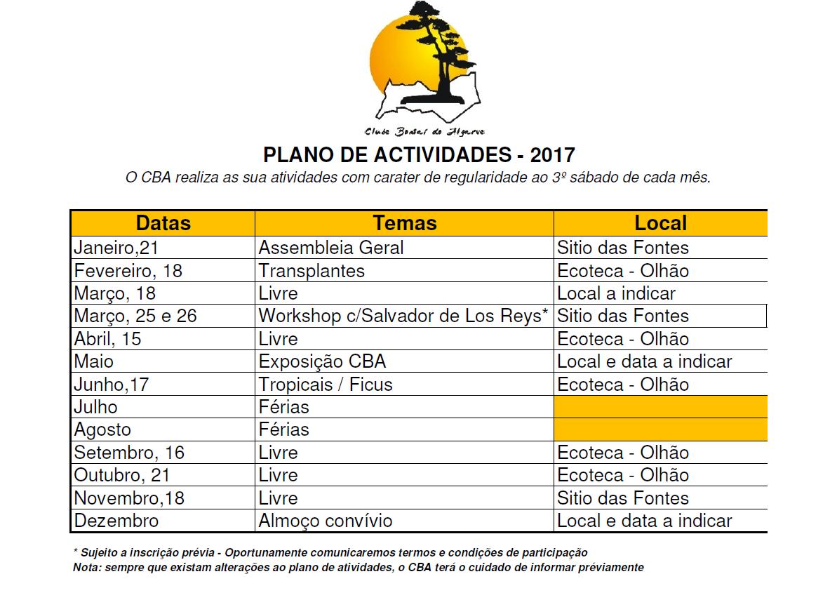 6cbaed36d3 Plano de Atividades – 2017